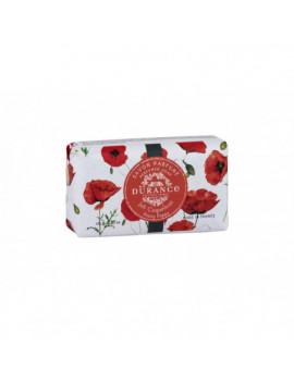 toáletné mydlo Durance Pretty Poppy