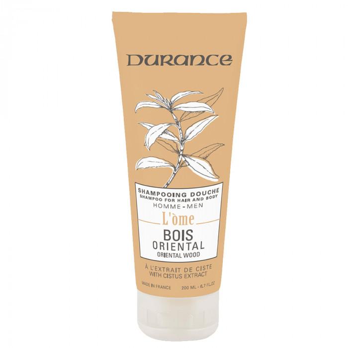 šampón a sprchový gél Durance Oriental wood
