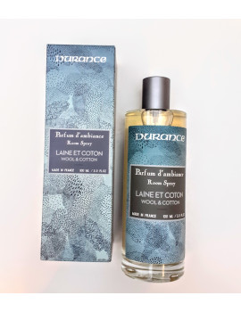 Durance Interiérový parfém v spreji Wool & Cotton (100ml)